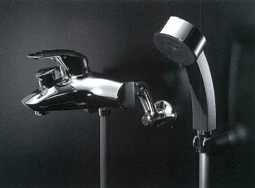 *KAKUDAI*143-012K シングルレバーシャワー混合栓 [寒冷地仕様]