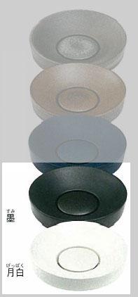 *KAKUDAI*493-016-[D/W][墨/月白] 丸型手洗器