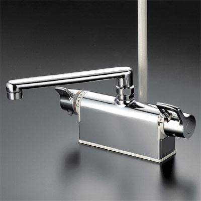 *KVK水栓金具*浴室用デッキ形サーモスタット式シャワーKF781T
