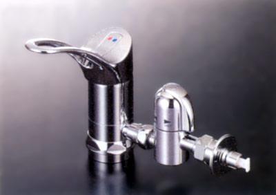 【3年保証無料】*KVK水栓金具*台所水栓 流し台用シングルレバー式混合栓用分岐金具KVK専用 ZK828GTU2007年6月発売
