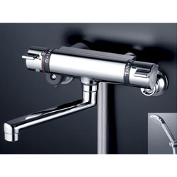 *KVK*KF800TMB 水栓金具 サーモスタット式シャワー メタリックホース・メタルヘッド