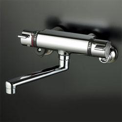 *KVK*KM800WT 水栓金具 サーモスタット式混合栓 [寒冷地用]