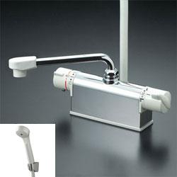 *KVK*KF771NR2/KF771R2/KF771YR2 水栓金具 デッキ形サーモスタット式シャワー