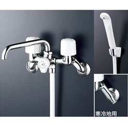 *KVK*KF40N2WZ 水栓金具 2ハンドルシャワー [寒冷地用]【代引不可】