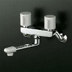 *KVK*KM140G3R24 水栓金具 2ハンドル混合栓 240mmパイプ付