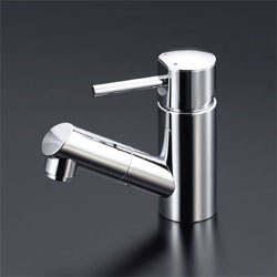 【3年保証無料】*KVK*LFM670 水栓金具 洗面用シングルレバー式混合栓