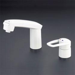 【3年保証無料】*KVK*LFB244WU16 水栓金具 シングルレバー式洗髪シャワー [寒冷地用]