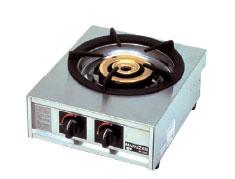 *マルゼン*M-211C[10780576] 業務用ガステーブルコンロ 幅350mm 1口タイプ