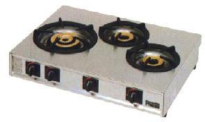 *マルゼン*M-213C[16109031] 業務用ガステーブルコンロ 幅770mm 3口タイプ