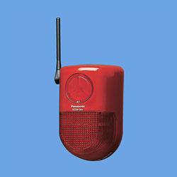 *パナソニック*ECD6130K ワイヤレスセキュリティシステム マモリエ 警報ランプ付ブザー受信器