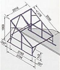 *ノーリツ*421B 太陽熱温水器専用架台 東西屋根用