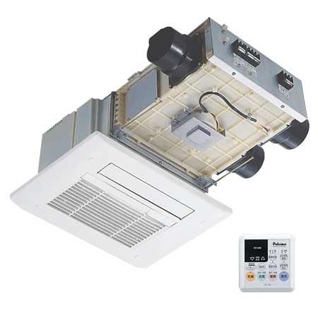 *パロマ*浴室暖房乾燥機 PBD-C334TC2J 天井埋込型 [2室換気タイプ]