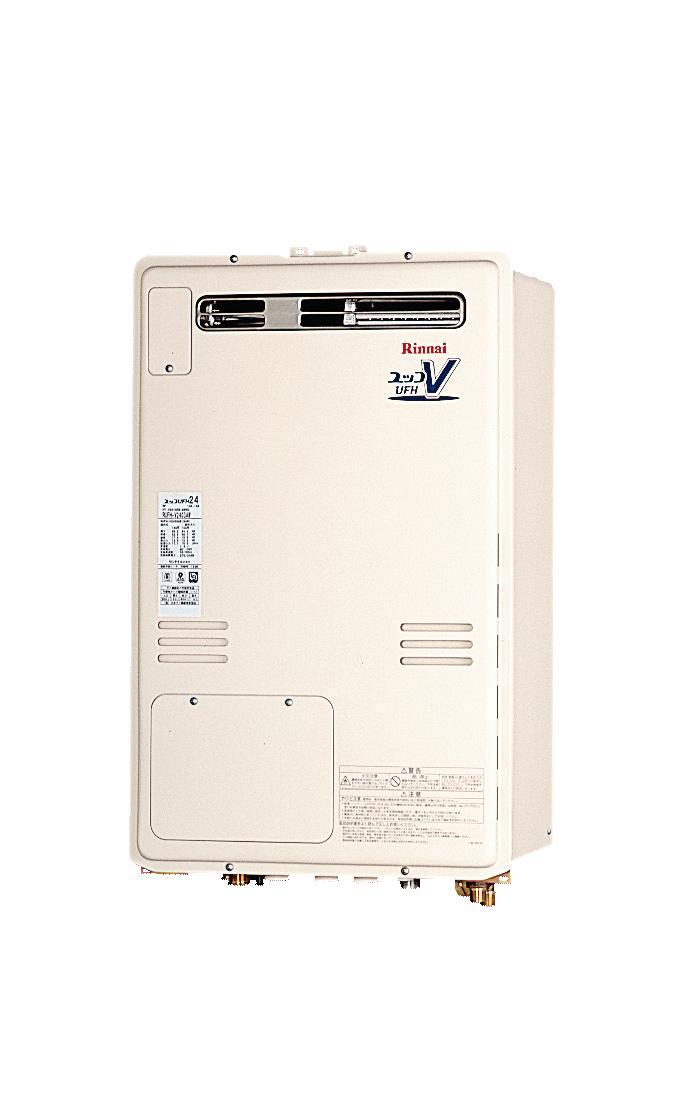 【無料3年保証/工事もご依頼で5年】*リンナイ*RUFH-V2403SAW2-6[B] 温水暖房熱源機 設置フリー 屋外壁掛型 [オート] 24号
