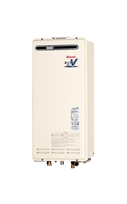 【無料3年保証/工事もご依頼で5年】*リンナイ*温水暖房熱源機 設置フリー屋外壁掛型 RUH-VK1610W [給湯+暖房] 16号