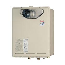 【送料・代引無料】*リンナイ*RUXC-V3201T 業務用ガスふろ給湯器 屋外壁掛型 [給湯専用] 32号 PC扉内設置型