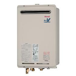 【無料3年保証/工事もご依頼で5年】【送料・代引無料】*リンナイ*RUJ-V1601W ガス給湯器 屋外壁掛型 高温供給式タイプ 16号20Aタイプ