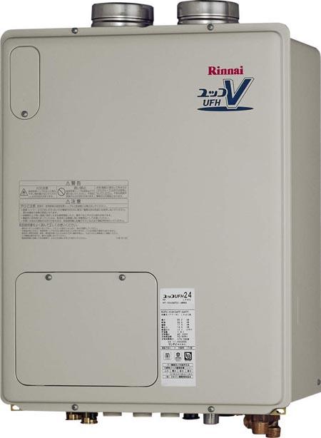 【送料・代引無料】*リンナイ*RUFH-VD2401AFF2-3A ガスふろ給湯器 FF方式・屋内壁掛型[フルオート]24号 給湯暖房熱源機