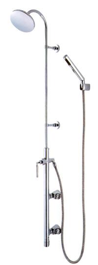 *三栄水栓金具*浴室用壁付サーモシャワ混合栓[バータイプ]SK1851-1S