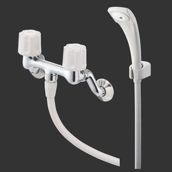 *三栄水栓*SK110-LH ツーバルブシャワー混合栓 一般地用