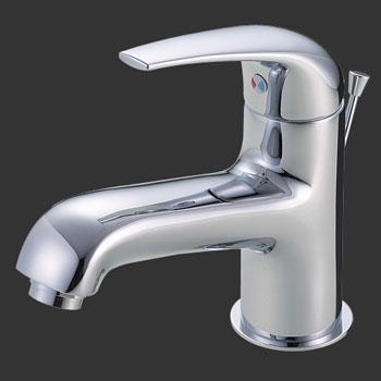 *三栄水栓*K4700PV シングルワンホール洗面混合栓 一般地用 ポップアップ用