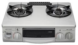 *サンウェーブ*RTSS336WNSL ガスコンロ・ガステーブル [フッ素天板] 片面焼グリル搭載モデル