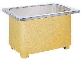 *サンウェーブ*S110-00A ステンレス浴槽 [埋込式]