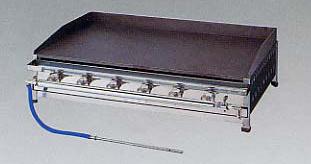 *正英[SHOEI]*T-75 業務用グリル セパレートグリドル卓上型 引出し付