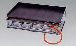 *正英[SHOEI]*UA-60 業務用グリル デラックスグリドル卓上型 引出付