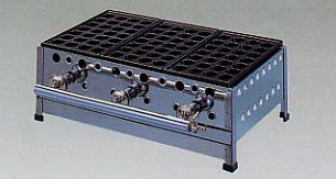 *正英[SHOEI]*UTS-528 業務用たこ焼き器 28穴スタンダード 引き出し付