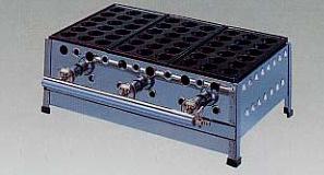 *正英[SHOEI]*UTJ-518 業務用たこ焼き器 18穴ジャンボ 引き出し付