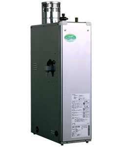 ☆*長府工産*CBS-ER4100G 石油給湯器 エコアール 貯湯式 屋外据置型 40.7kW[給湯専用]減圧安全弁内蔵【送料・代引無料】