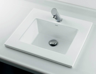 *KAKUDAI* 493-093 Luju 角型洗面器【送料・代引無料】