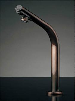 *KAKUDAI* 239-002-3 小型電気温水器 センサー水栓つき ブロンズ【送料・代引無料】