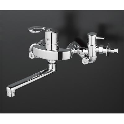 【3年保証無料】*KVK水栓金具*台所水栓シングルレバー式混合栓KM5000CHTTU【送料・代引無料】
