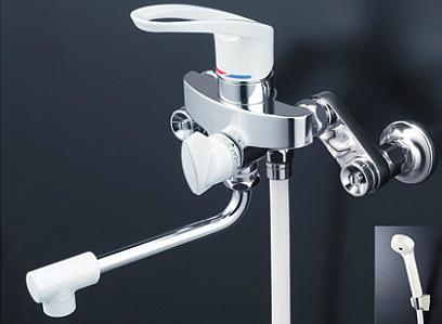 *KVK水栓金具*浴室用水栓 シングルレバー式シャワー KF5000HA【送料・代引無料】