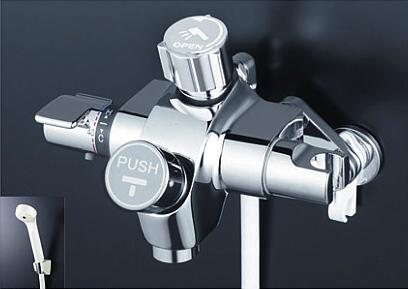 *KVK水栓金具*浴室用水栓 自閉式サーモスタット式シャワー KF3040SV【送料・代引無料】