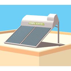 *長府製作所*KN-31 太陽熱温水器架台 南北向屋根用架台 ワイドタイプ/水道直結用