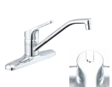 *INAX* キッチン用 シングルレバー混合栓 クロマーレ[エコハンドル] SF-HB431SY フレキホース仕様