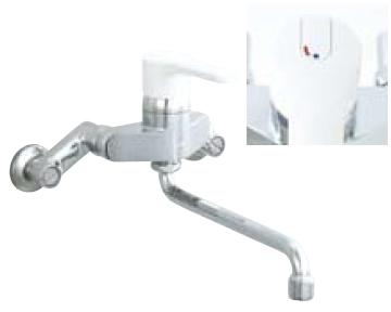 *INAX* キッチン用 シングルレバー混合栓 ノルマーレ[エコハンドル] 壁付タイプ SF-HE435SY 一般地