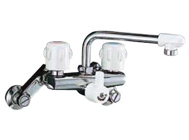 *INAX* キッチン用 2ハンドル混合栓 壁付タイプ SF-415HNDC-RU 寒冷地
