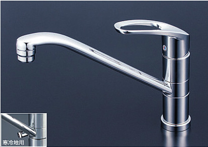 *KVK水栓金具* キッチン 流し台用シングルレバー式シャワー付混合栓 KM5051T/KM5051ZT【送料・代引無料】