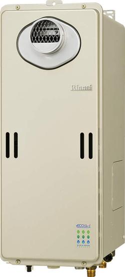 卸売 *リンナイ*RUF-SE1610SAW/RUF-SE1600SAW ガスふろ給湯器 設置フリー屋外壁掛・PS設置型 スリムタイプ 16号[オート]【送料・無料】, 江北町 535663bf