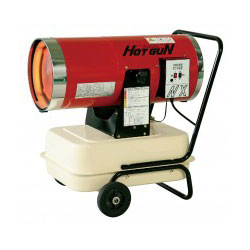 *シズオカ*HGNX 業務用熱風ヒーター HOTGUNシリーズ 32kW〈メーカー直送送料無料〉