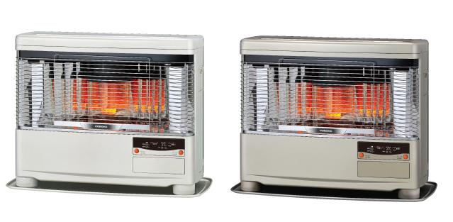 *コロナ*UHB-TP1030 FF式輻射 温水暖房 ツインヒーター 石油暖房機 5.23kW 木造13畳/コンクリート20畳