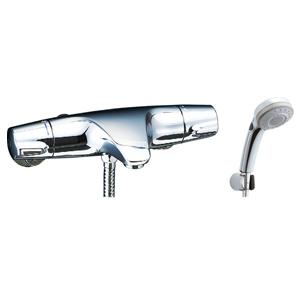*INAX*BF-J147TSBW サーモスタット付シャワーバス水栓 エコフルスイッチ多機能シャワー【送料・代引無料】