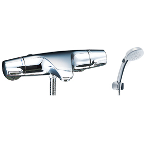 *INAX*BF-J147TNSCW サーモスタット付シャワーバス水栓 エコフルスイッチシャワー[メッキ仕様] 寒冷地用 【送料・代引無料】
