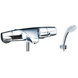*INAX*BF-J147TSC サーモスタット付シャワーバス水栓 エコフルスプレーシャワー[メッキ仕様]【送料・代引無料】