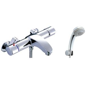 *INAX*BF-A147TNSB サーモスタット付シャワーバス水栓 エコフル多機能シャワー 寒冷地用【送料・代引無料】