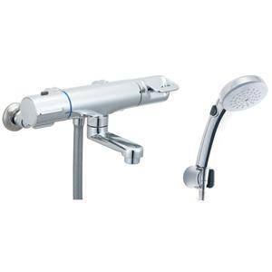 *INAX*BF-HB147TNSCW サーモスタット付シャワーバス水栓 エコフルスイッチシャワー[メッキ仕様] 寒冷地用【送料・代引無料】