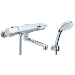 *INAX*BF-HB145TNSCW サーモスタット付シャワーバス水栓 エコフルスイッチシャワー[メッキ仕様] 寒冷地用【送料・代引無料】
